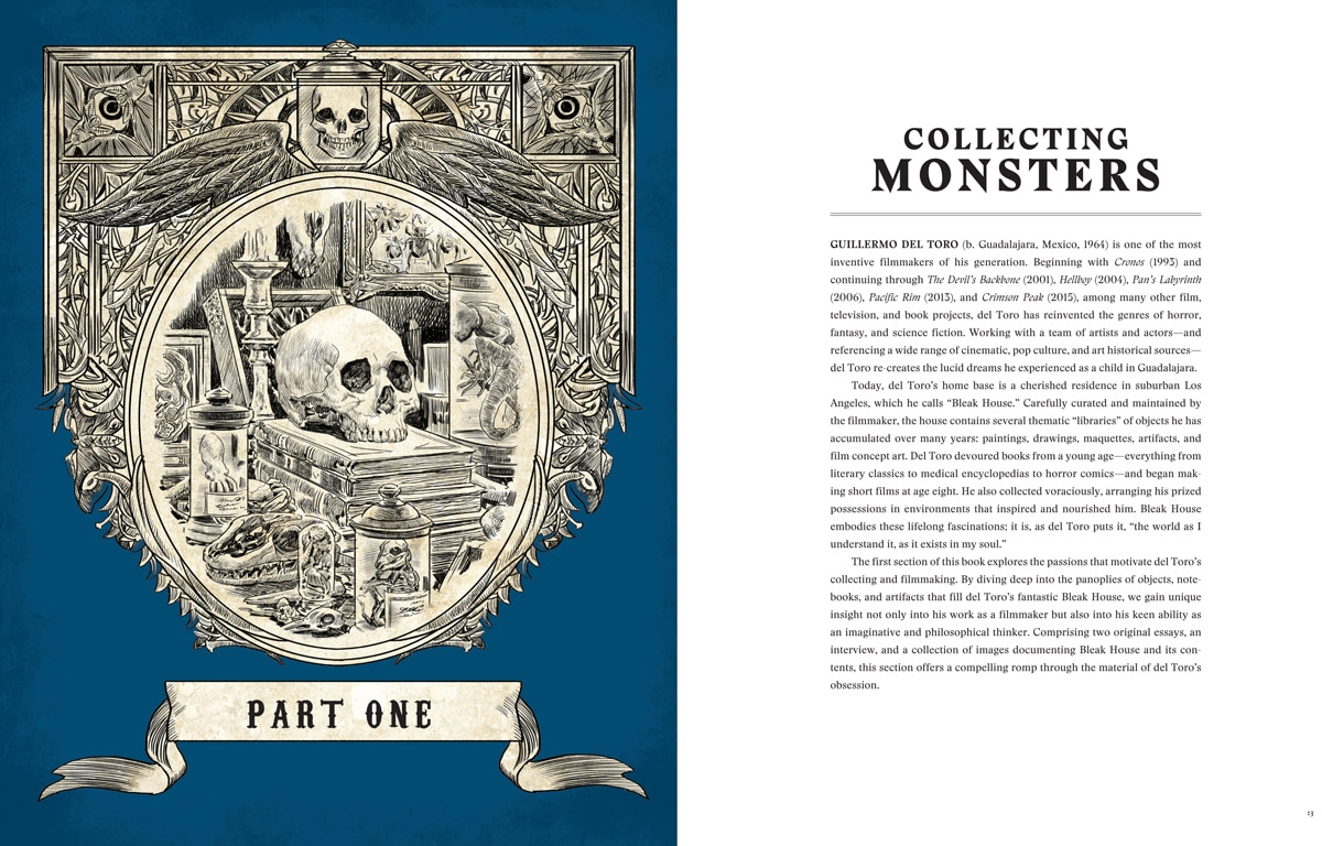 9781608878604 - Take a Peek Inside Guillermo del Toro: At Home with Monsters