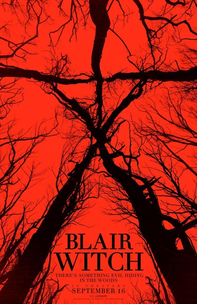 Blair Witch poster 664x1024 - Simon Barrett Teases Massive Blair Witch Shocker!