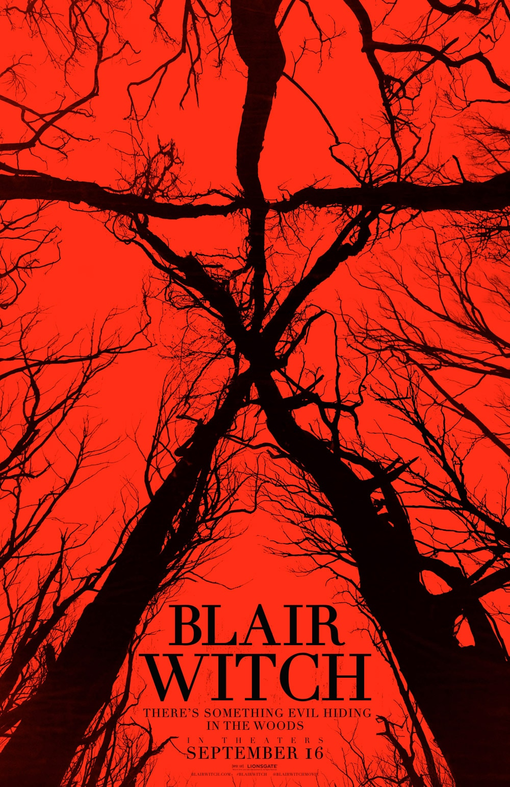 Blair Witch poster - #SDCC16: The Woods Is Actually Lionsgate's Secret Blair Witch Sequel