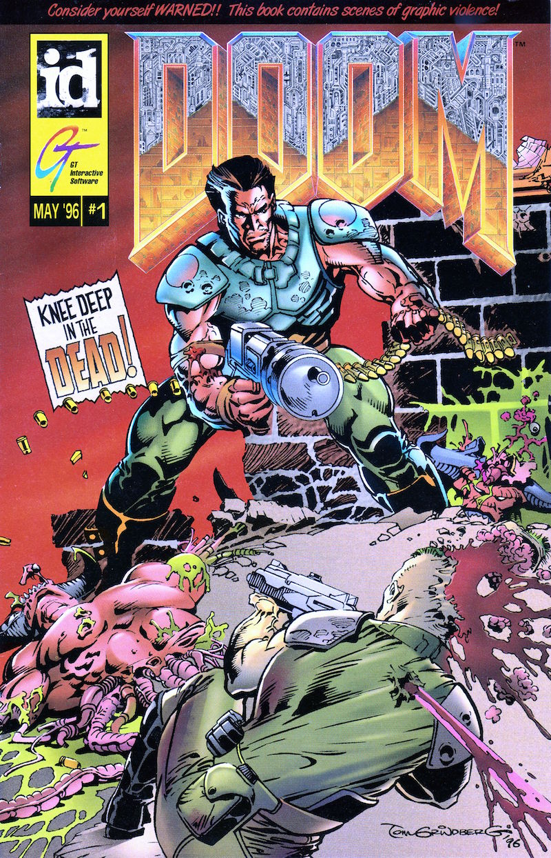 Doom Comic - Rip and Tear: Revisiting the Glorious Insanity of the Doom Comic