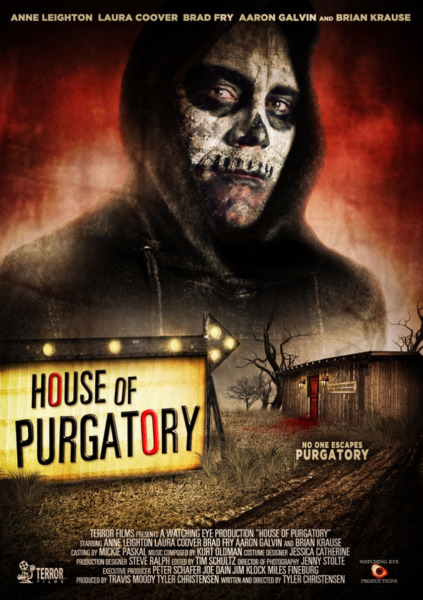 House of Purgatory Movie Poster Tyler Christensen - Enter the House of Purgatory to See a New Trailer and Artwork