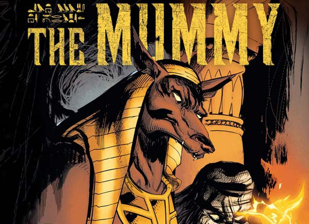 Mummy 1 Cover A s - Exclusive Reveal: The Mummy Issue #1 Interior Pages and Variant Cover