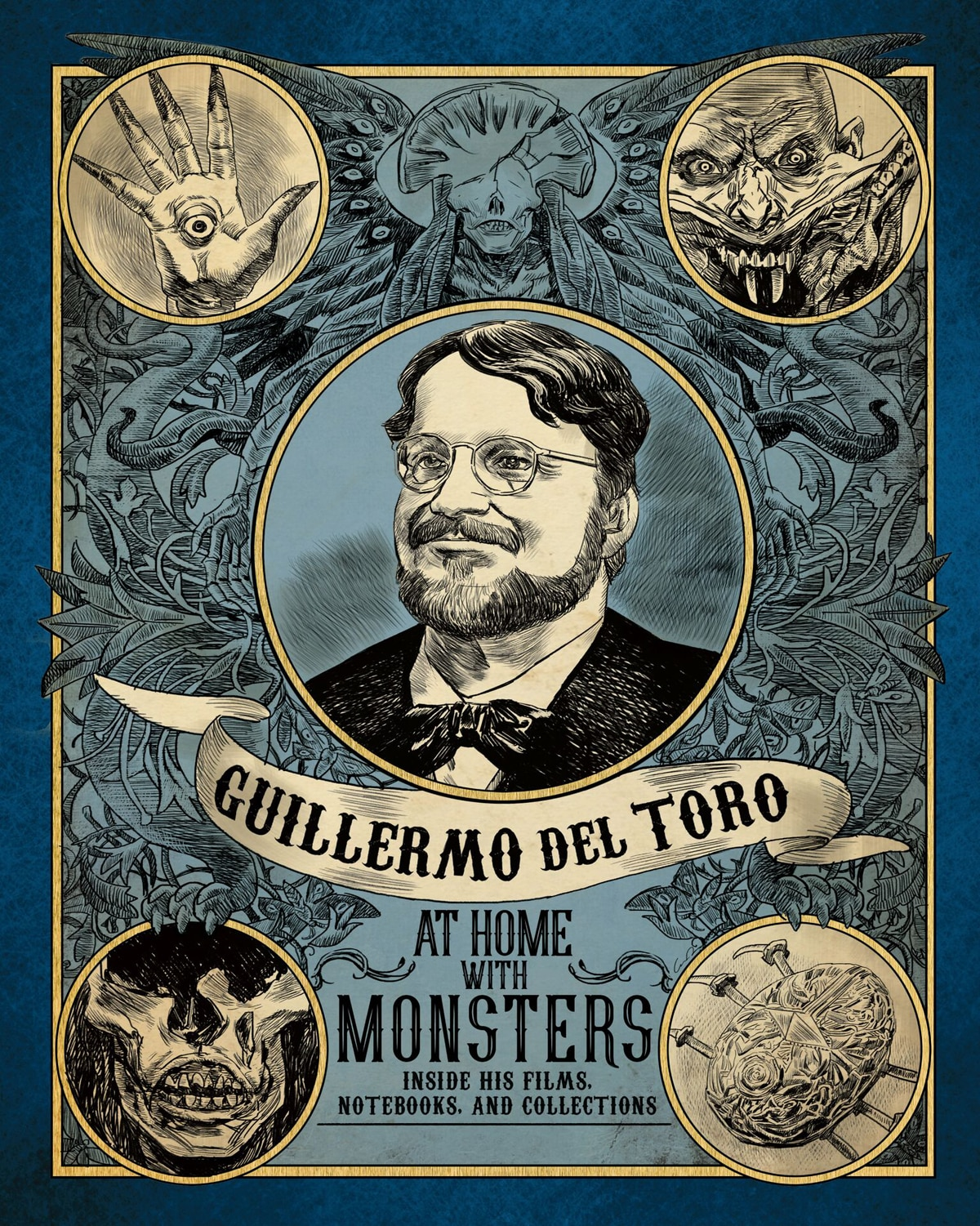 athomewithdeltoro cover - Take a Peek Inside Guillermo del Toro: At Home with Monsters