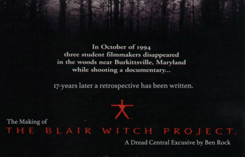 blair witch making - The Making of The Blair Witch Project: Part 3 - Doom Woods Preppers