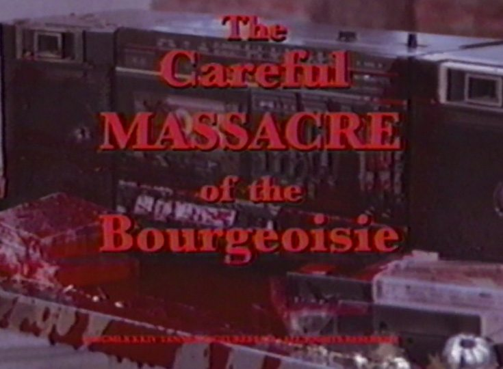 The Careful Massacre of the Bourgeoisie from Mr. Robot!