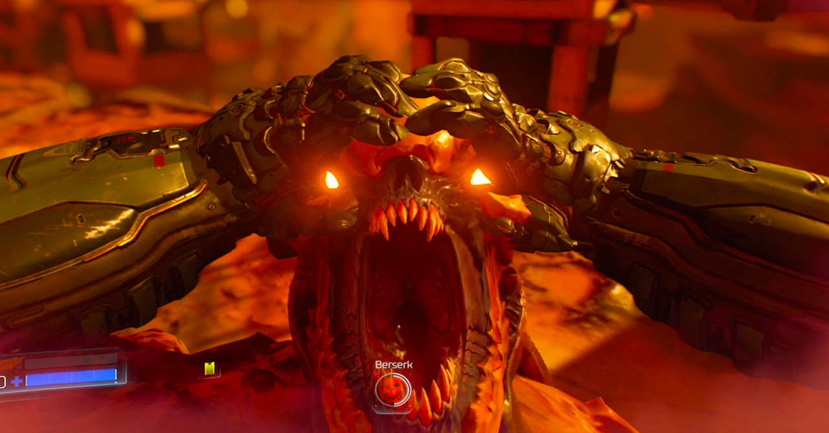 doom beserk mode screen 1 - Doom Gets a Ton of Badass DLC