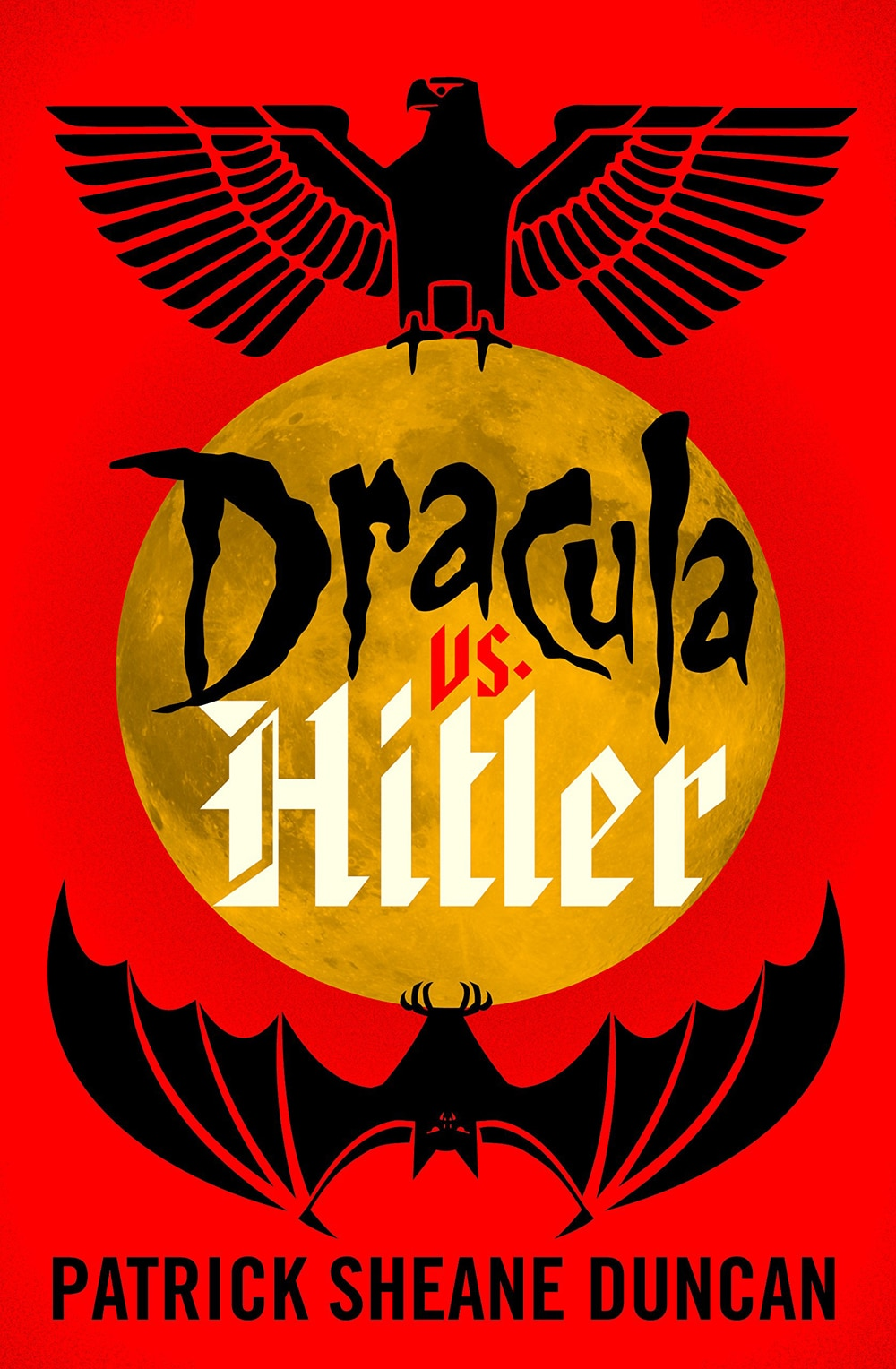 draculavshitler - It's Dracula vs. Hitler in New Book Coming in October