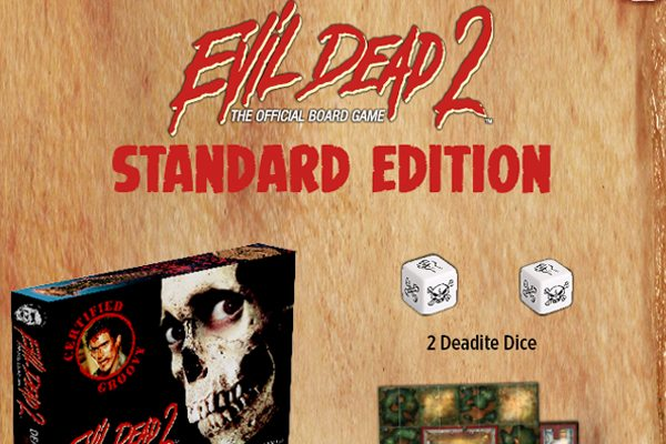 ed2game standard s - See Several Exclusive Images from the Evil Dead 2 Board Game
