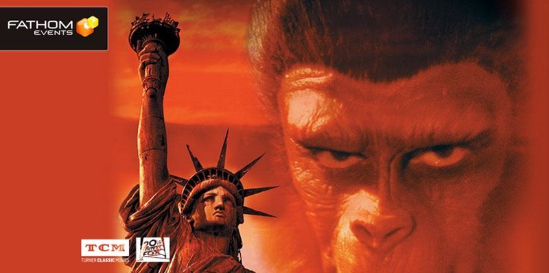 fathom planetoftheapes - Fathom/TCM Bringing Planet of the Apes to Theaters Again! Win a Pair of Tickets and/or a Collectible!