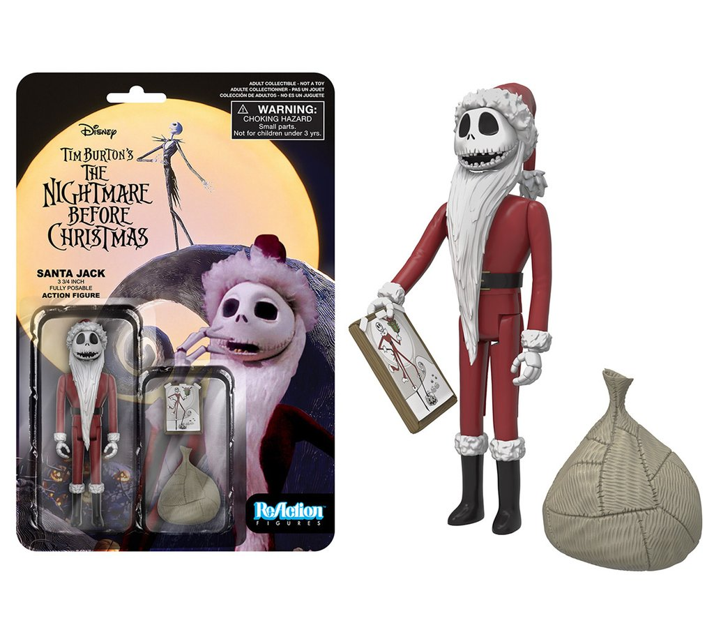 New Wave of Nightmare Before Christmas ReAction Figures Coming from ...