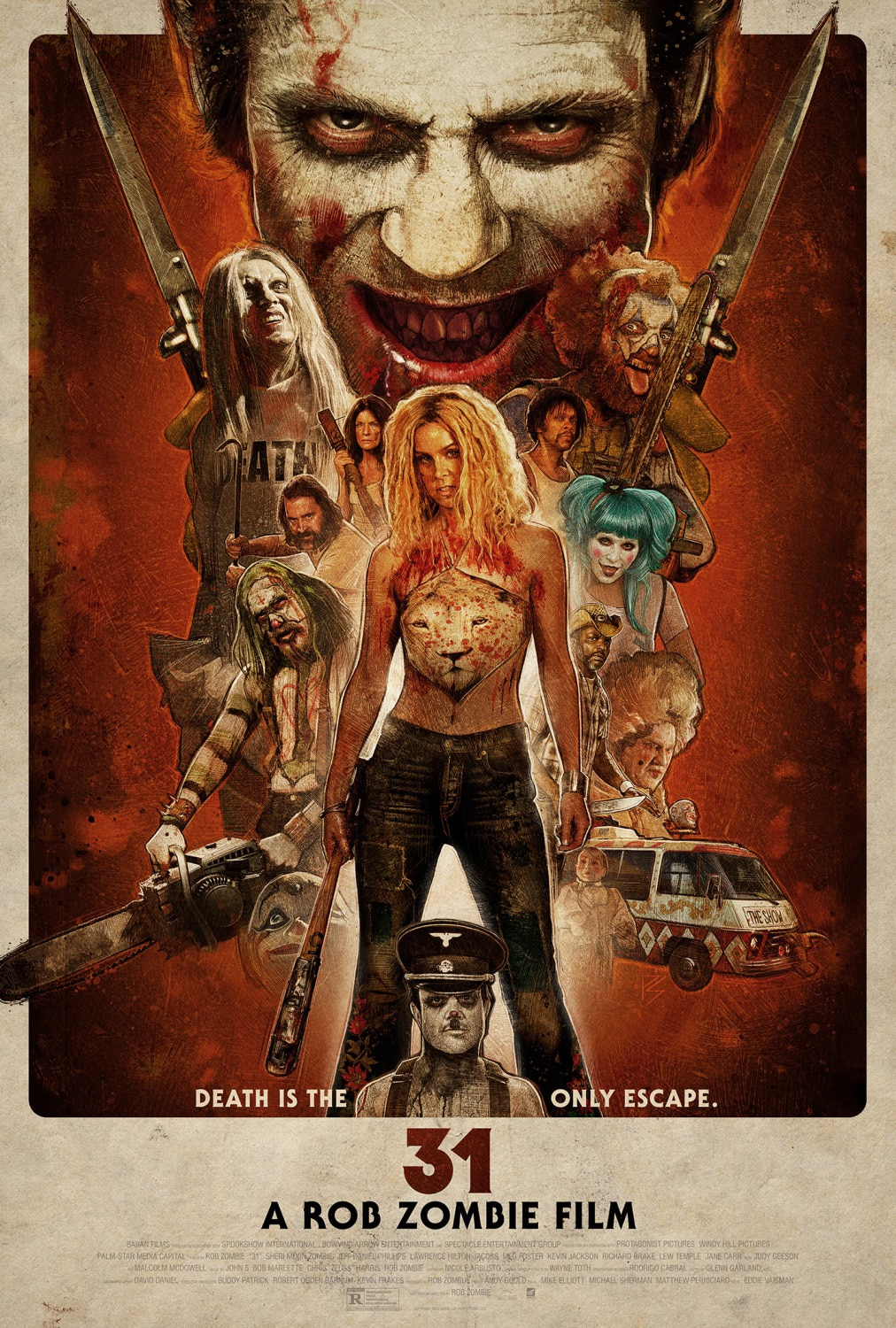 31poster 0 - Dread Central's Best and Worst Horror Films of 2016