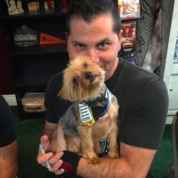 Arwen autograph signing 590x590 - The Movie Crypt's Save the Yorkies Marathon Is Live! Donate Now!
