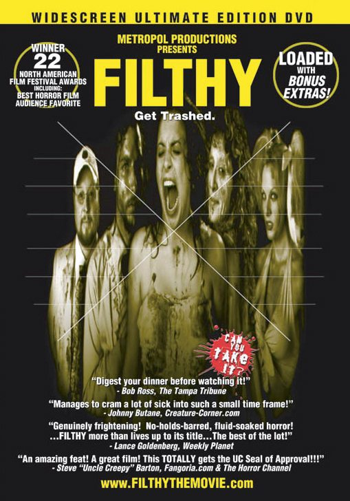 Filthy DVD Cover FRONT