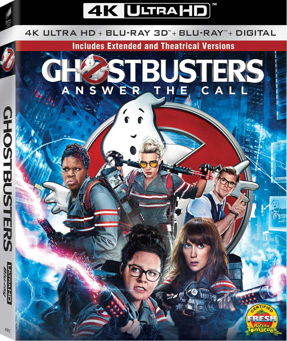 Ghostbusters 2016 4K - Ghostbusters Answers the Call at Home