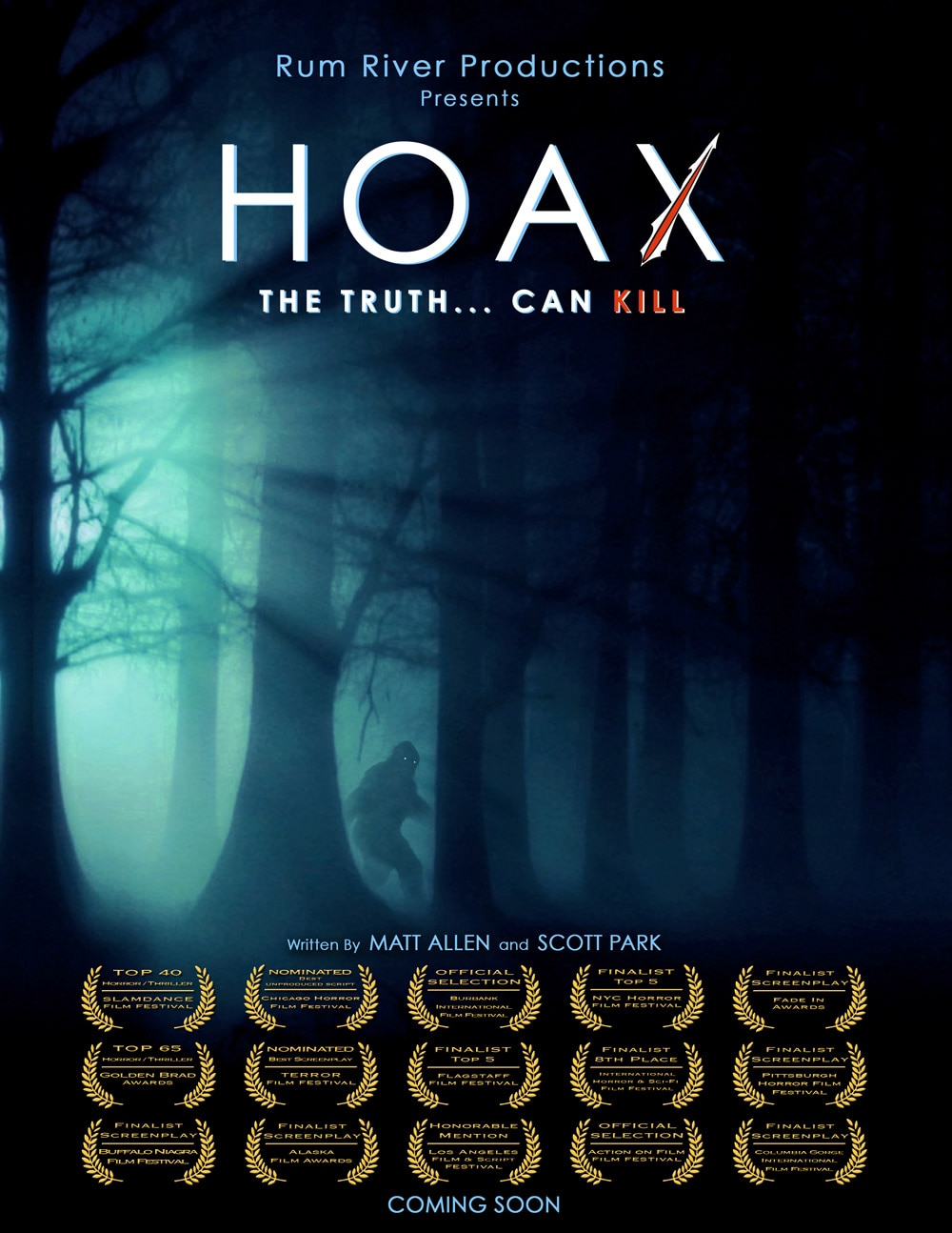 Hoax Poster - Exclusive Poster Premiere: This Hoax Can Kill!