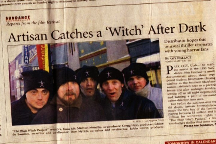 LA Times 2 - The Making of The Blair Witch Project: Part 7 - The Embiggening