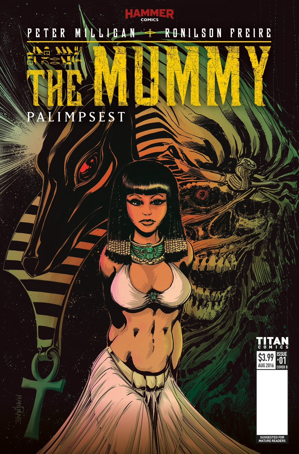 Mummy 1 Cover B - Exclusive Reveal: The Mummy Issue #1 Interior Pages and Variant Cover