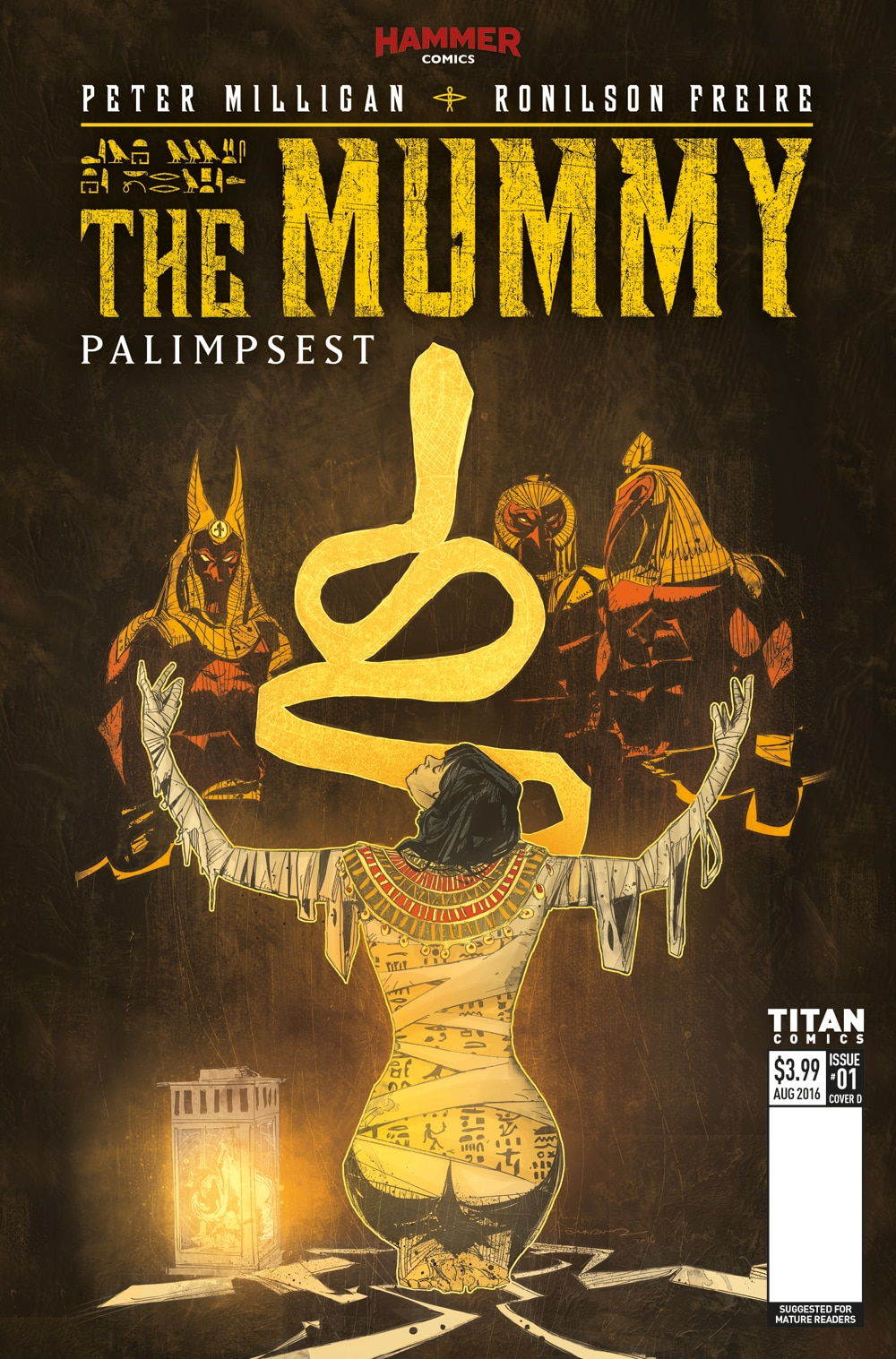 Mummy 1 Cover D - Exclusive Reveal: The Mummy Issue #1 Interior Pages and Variant Cover