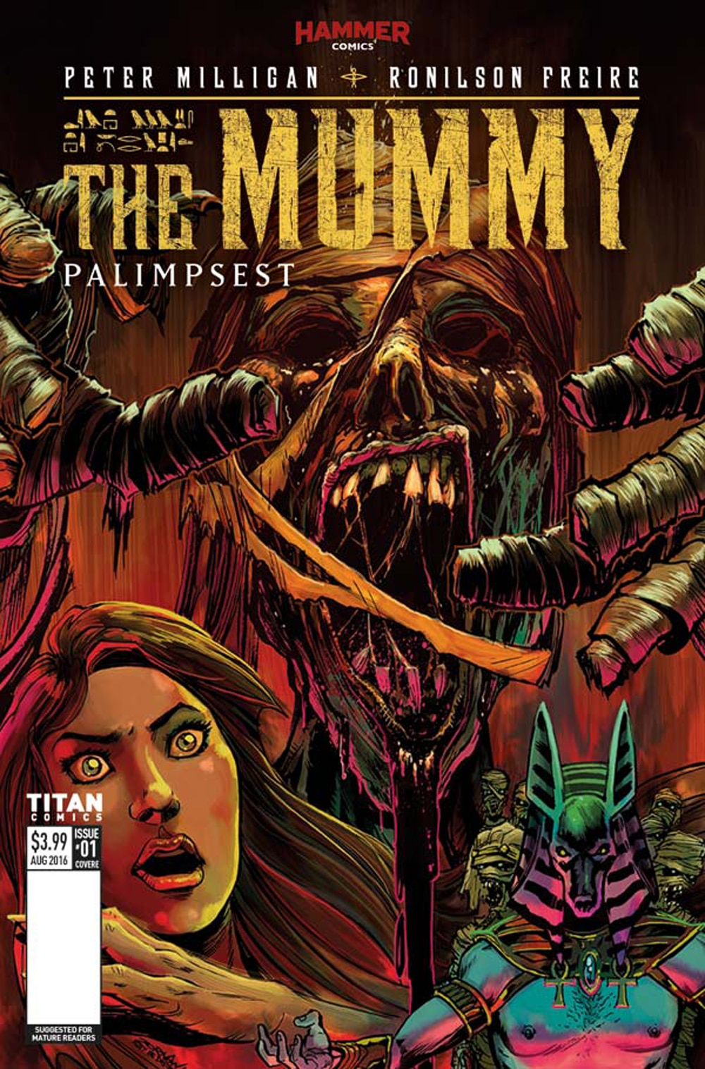 Mummy 1 Cover E - Exclusive Reveal: The Mummy Issue #1 Interior Pages and Variant Cover