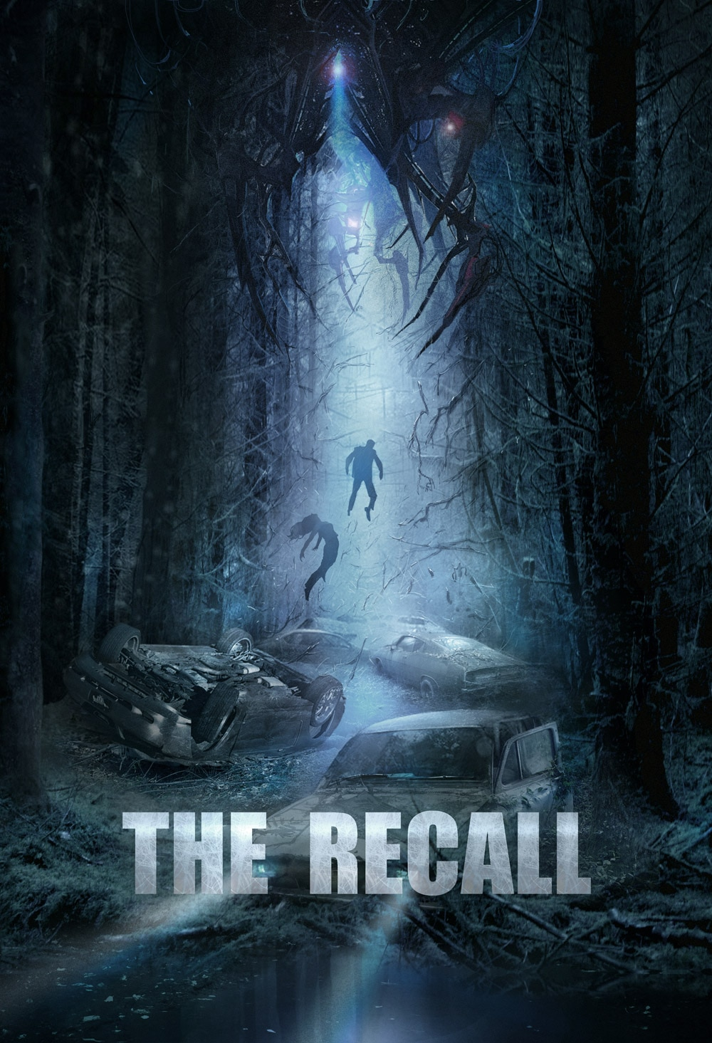 The Recall Poster - Wesley Snipes Beating Off Aliens in The Recall; Check Out the Poster