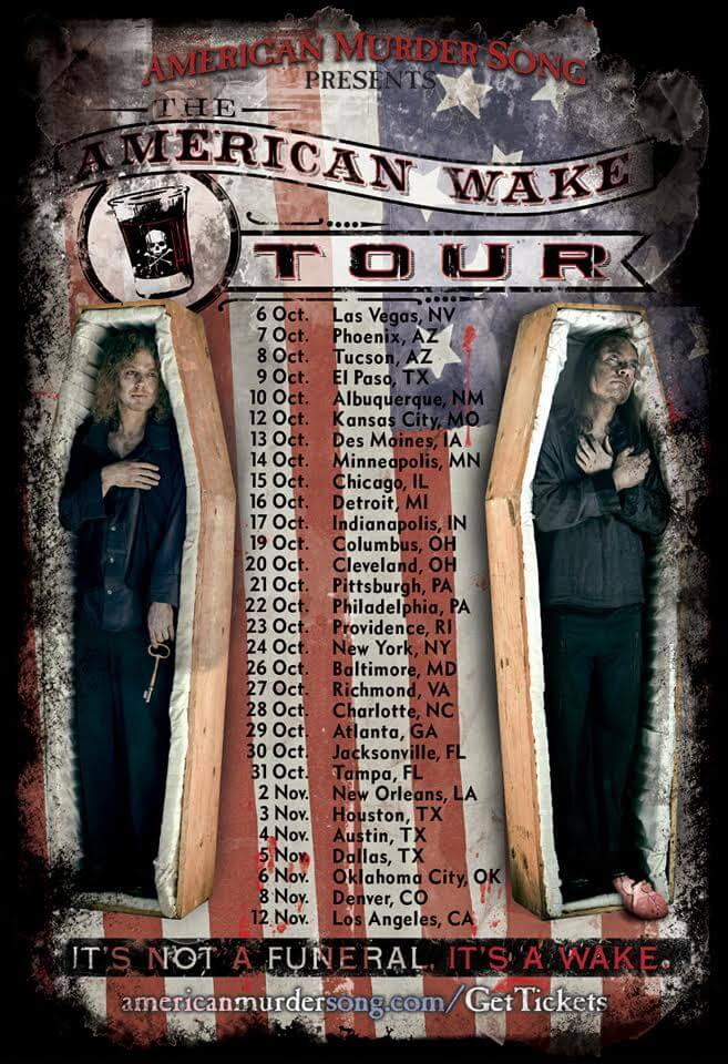 american murder song tour2 1 - American Murder Song's The American Wake Tour Begins in October