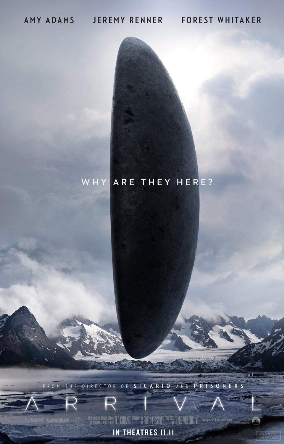Arrival 2016 dread central arrival poster1 buycottarizona