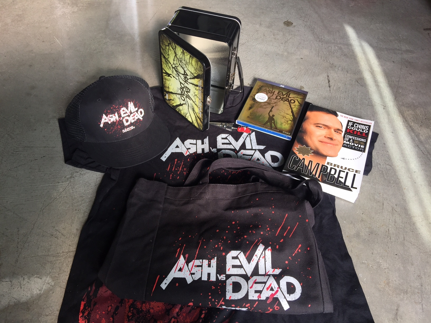 ash contest 1 - Win an Ash vs. Evil Dead Prize Package and More!