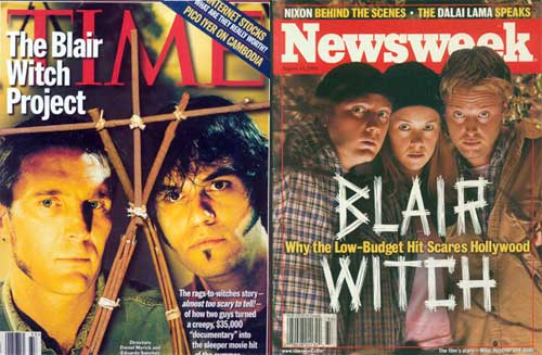 blair witch time newsweek - The Making of The Blair Witch Project: Part 7 - The Embiggening