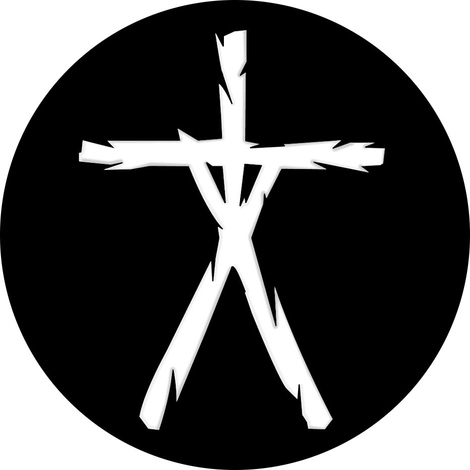 """The """"Stickman"""" logo as designed by Steve Carsella for the Sundance poster. He also designed the whole poster."""