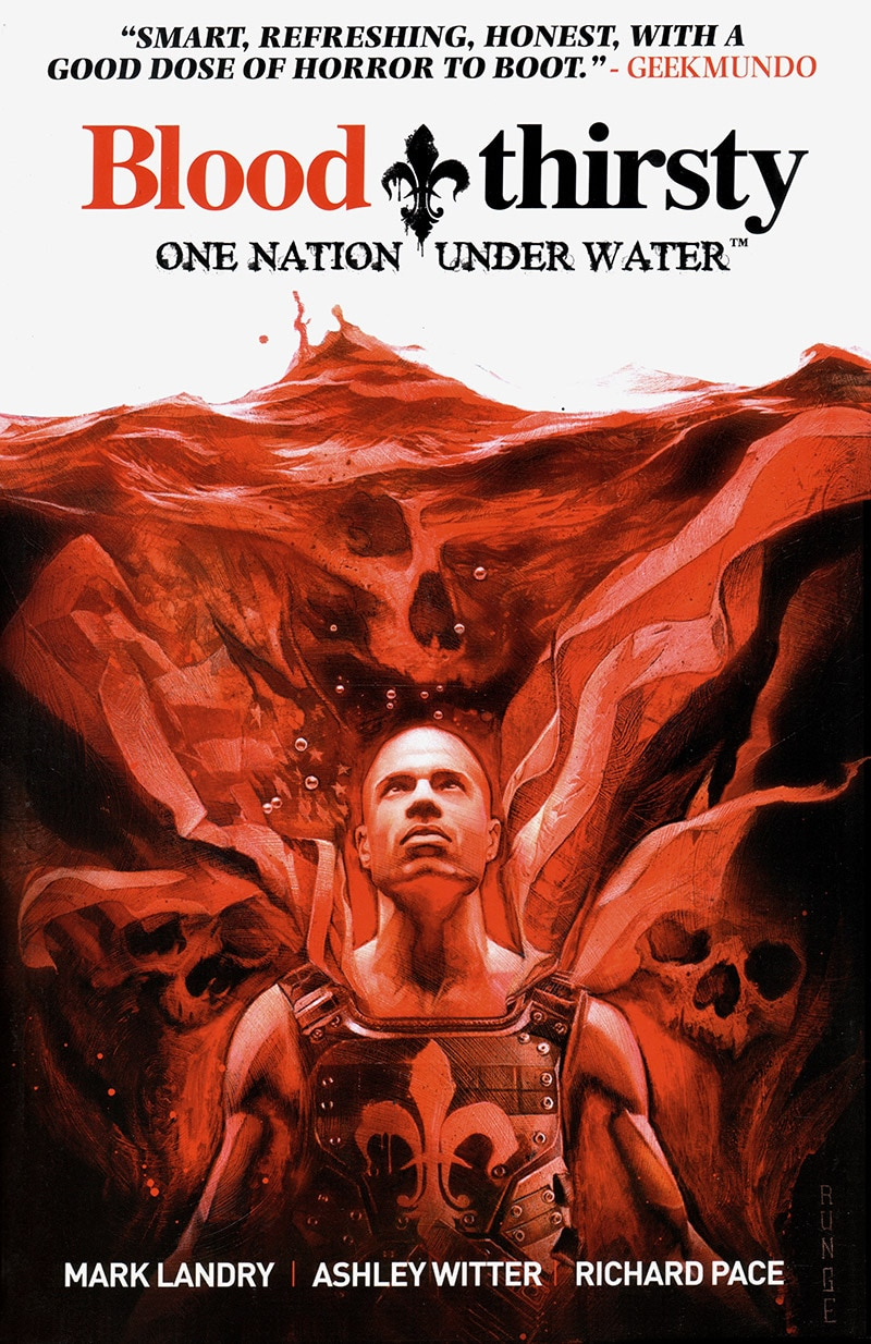 blood thirsty - First Look: Graphic Novel Bloodthirsty: One Nation Under Water