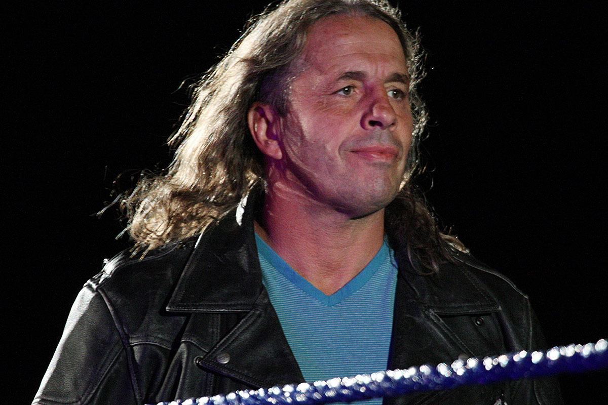 "bret hart - WWE Superstar and Legend Bret ""The Hitman"" Hart to Tell Tales From the Dead Zone with Corey Feldman and More"