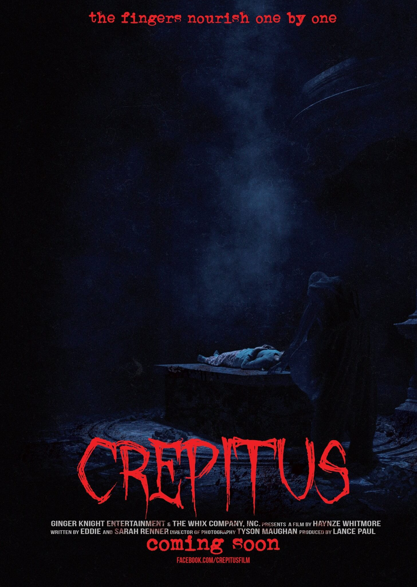 crepitus poster 1 - Bill Moseley Becomes a Killer Clown in Crepitus