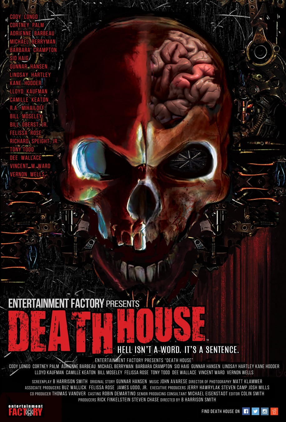 deathhouse finalposter - Full Death House Trailer Brings the Carnage; Exclusive New Promo Images!