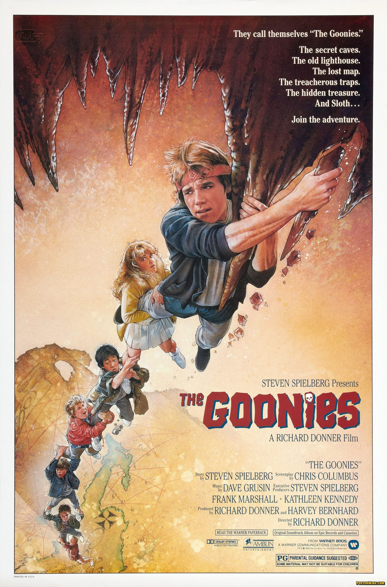 goonies poster - The Movie Crypt's Save the Yorkies Marathon Is Live! Donate Now!