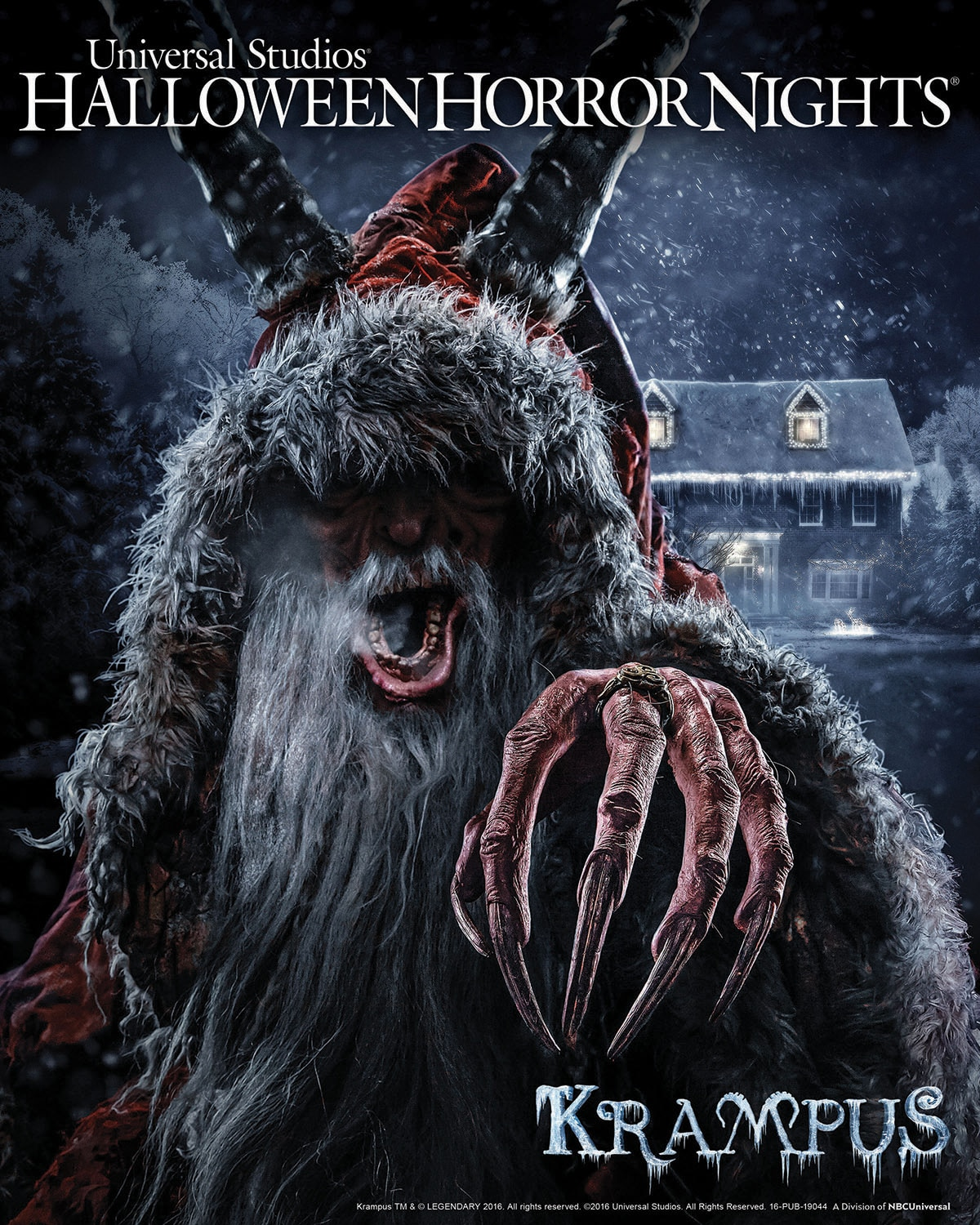 Christmas Horror Story Krampus.Halloween Horror Nights Unleashes Christmas Fear With