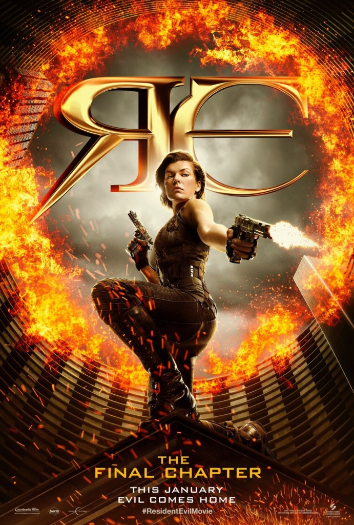 resident evil the final chapter - Resident Evil: The Final Chapter - New Poster and Still Arrive