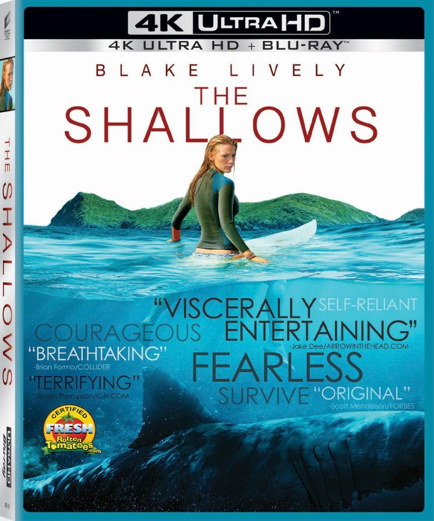shallows 4D 853x1024 - First 10 Minutes of The Shallows Swim Forth; Watch Right Now!