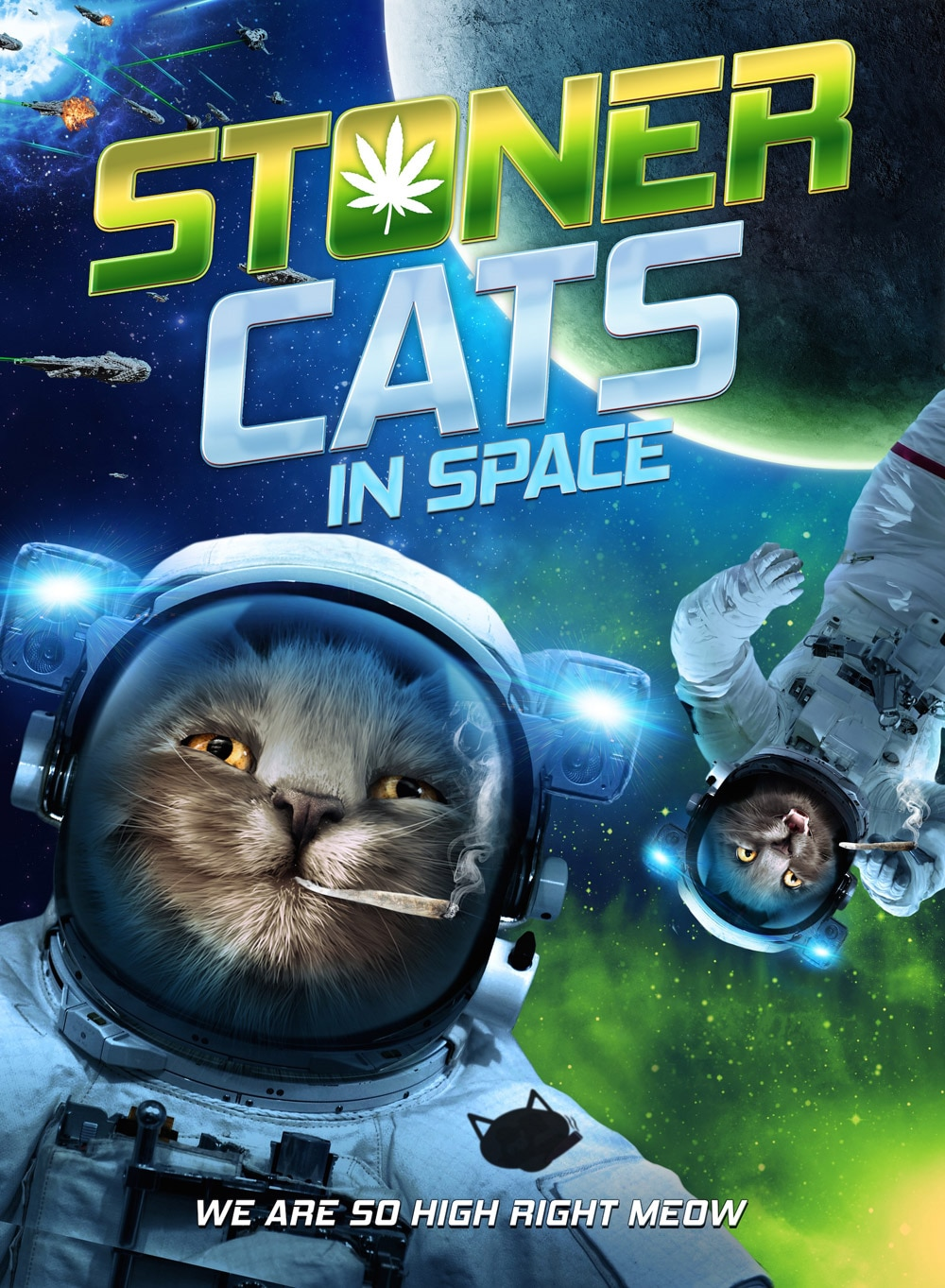 stoner cats in space - Stoner Cats in Space Getting High With Your Help!