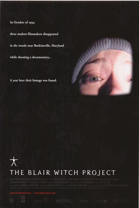 the blair witch project sundance poster 1999 1020394423 - The Making of The Blair Witch Project: Part 3 - Doom Woods Preppers