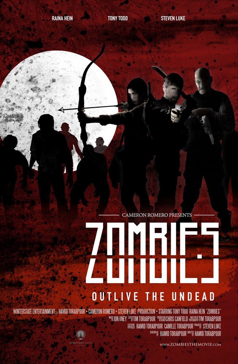 zombies poster - New Poster Unveiled for Hamid Torabpour's Debut Feature Zombies