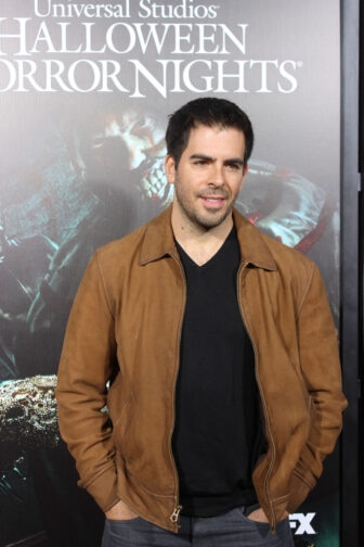 Eli Roth04 336x504 - Halloween Horror Nights Hollywood - Dread Central Attends the Red Carpet Kick-Off; Photo Gallery