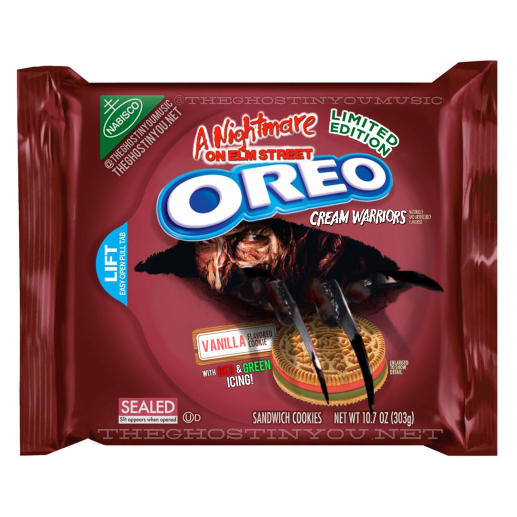 Elm Street 1024x1024 - What if Your Favorite Horror Movies Got Their Own Oreos?