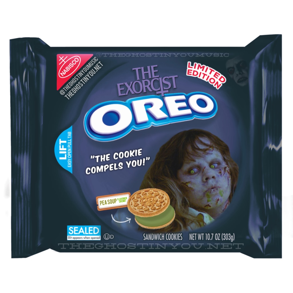 Exorcist 1024x1024 - What if Your Favorite Horror Movies Got Their Own Oreos?