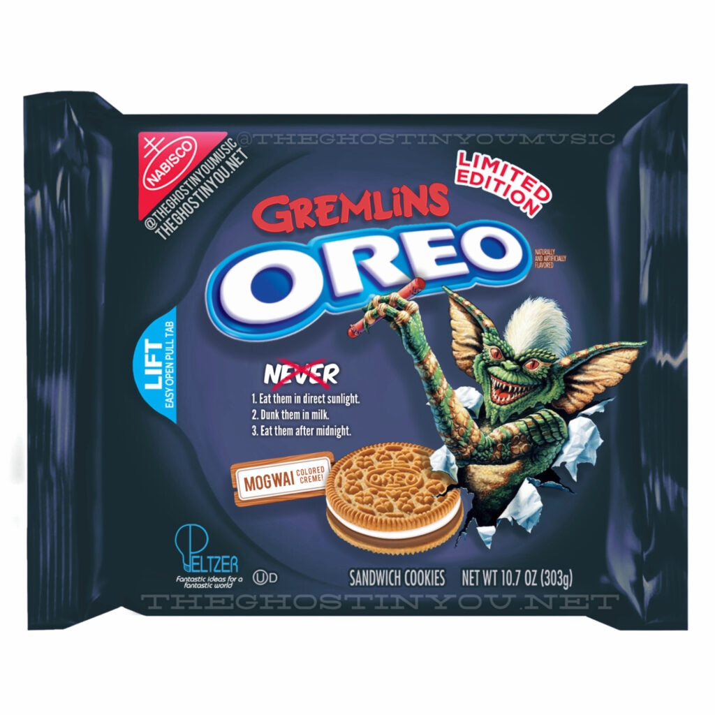 Gremlins 1024x1024 - What if Your Favorite Horror Movies Got Their Own Oreos?