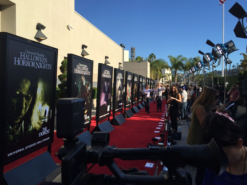 HHN Carpet.jpeg05 - Halloween Horror Nights Hollywood - Dread Central Attends the Red Carpet Kick-Off; Photo Gallery