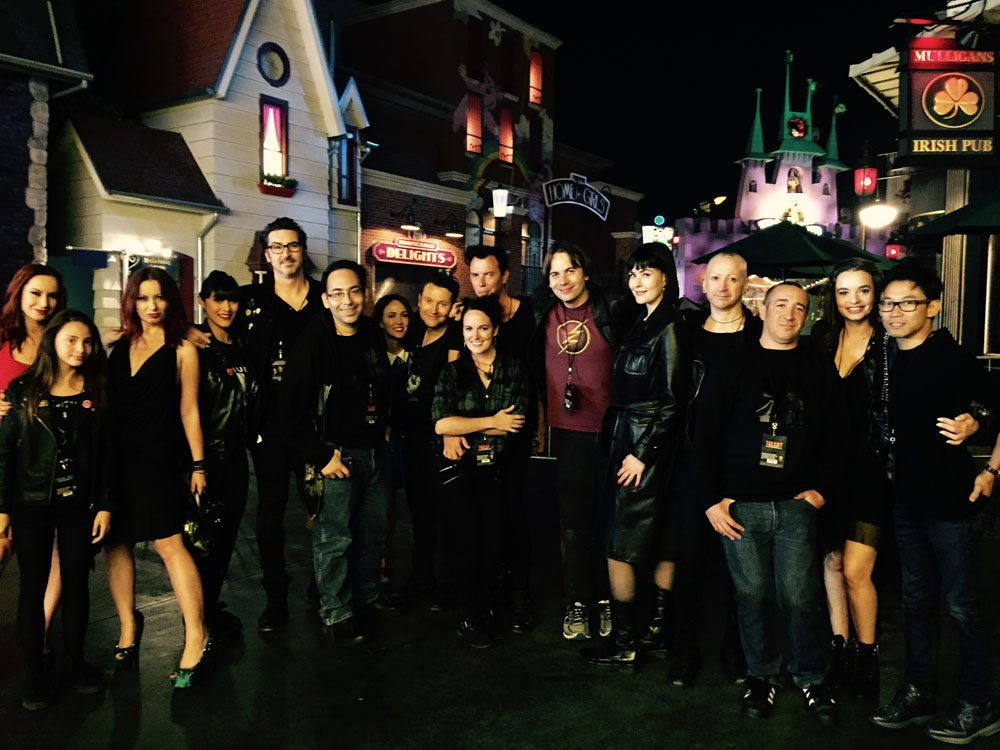 HHN Group.jpeg06 - Halloween Horror Nights Hollywood - Dread Central Attends the Red Carpet Kick-Off; Photo Gallery