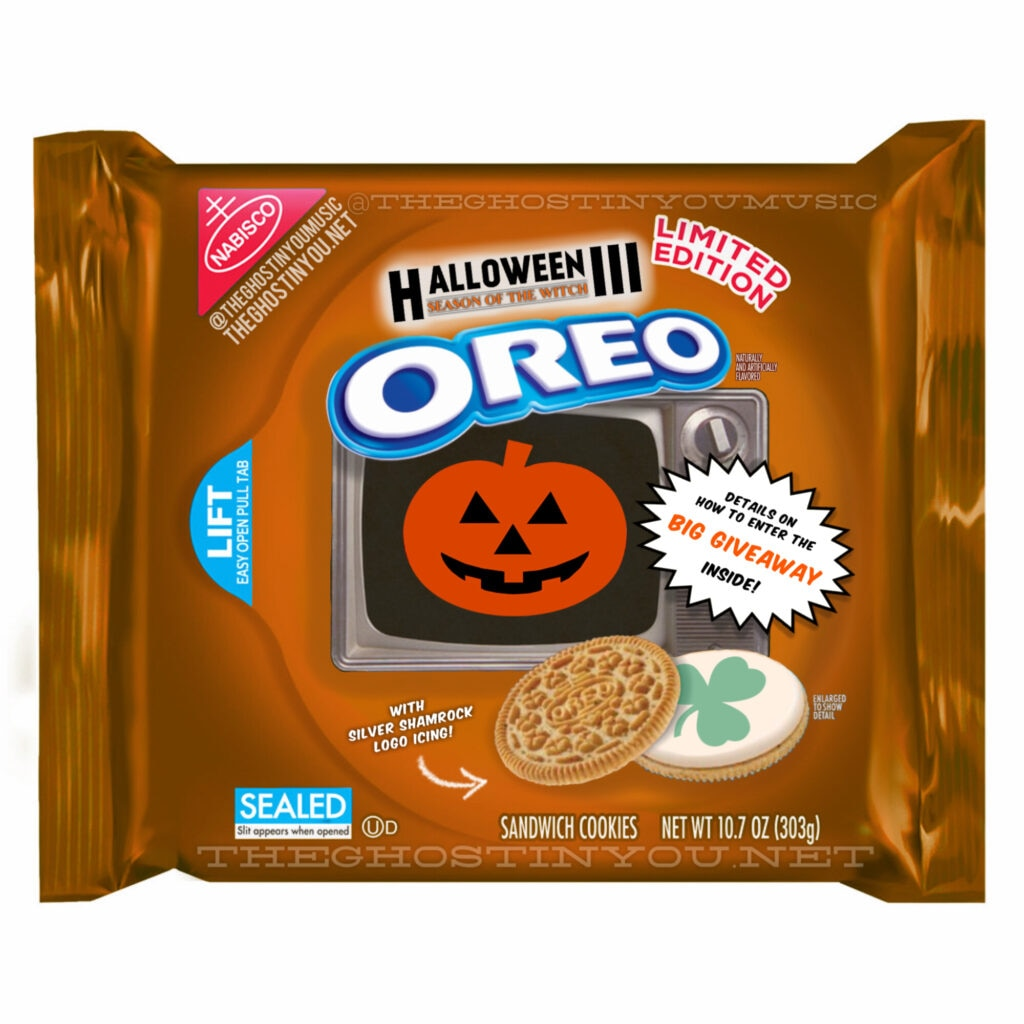 Halloween 3 1024x1024 - What if Your Favorite Horror Movies Got Their Own Oreos?