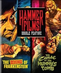 Hammer Film Double Feature Revenge of Frankenstein The Curse of the Mummys Tomb 253x300 - DVD and Blu-ray Releases: September 6, 2016