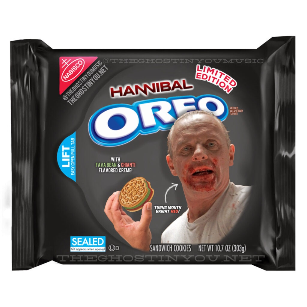 Hannibal 1024x1024 - What if Your Favorite Horror Movies Got Their Own Oreos?