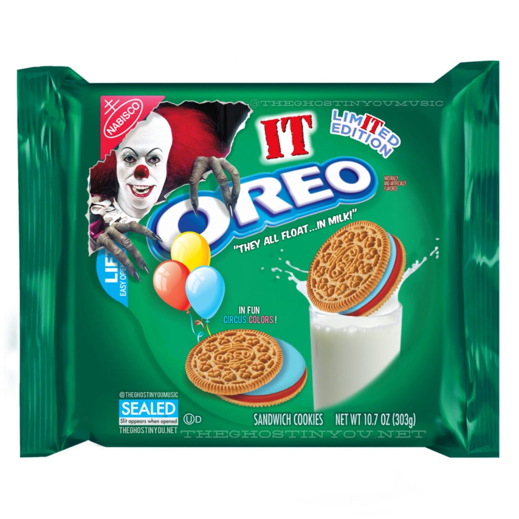 IT 1024x1024 - What if Your Favorite Horror Movies Got Their Own Oreos?